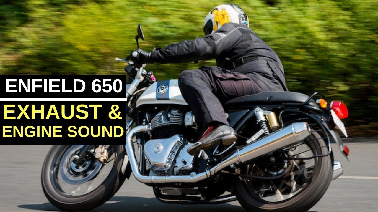Royal Enfield Continental Interceptor 650 Exhaust Note Engine