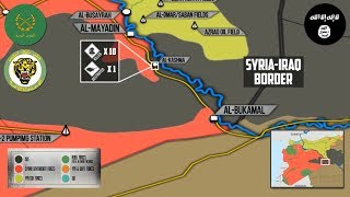 17 ноября 2017. Военная обстановка в Сирии. Засада боевиков ИГИЛ на сирийский спецназ возле Евфрата.