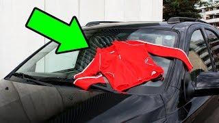 Если Видите на Своей Машине Одежду — не Трогайте ее, а Сразу Уезжайте!