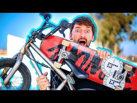 BMX VS SKATER