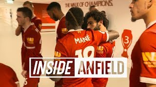 Inside Anfield: Liverpool 1-1 Everton | TUNNEL CAM