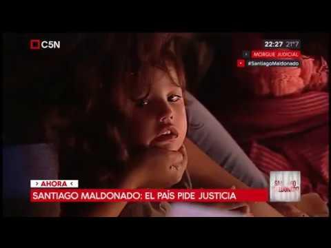 Niños se conmueven por la muerte de Santiago Maldonado