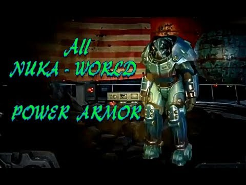 Fo4 Nuka World Map.All 9 Power Armor Locations In Nuka World Youtube