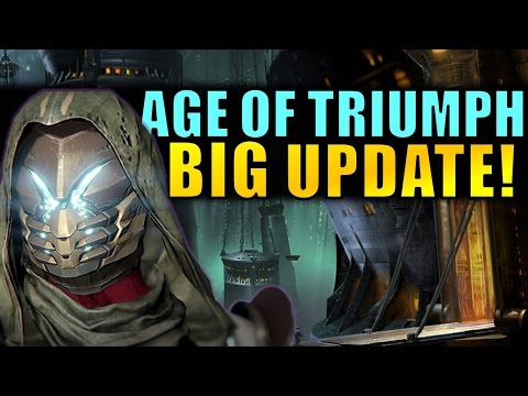 Destiny: BIG UPDATE to Weekly Activities in Age of Triumph!