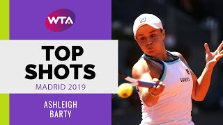 Ashleigh Barty | Top Shots | Madrid 2019