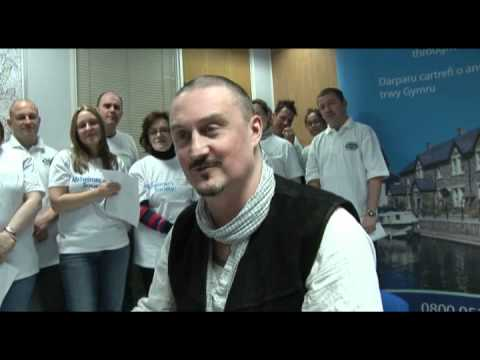 Wales & West Housing Association -- See Shayne Get Shorn for the Alzheimer's Society
