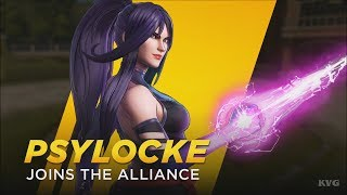 Marvel Ultimate Alliance 3: The Black Order - Psylocke Gameplay (Nintendo Switch HD) [1080p60FPS]