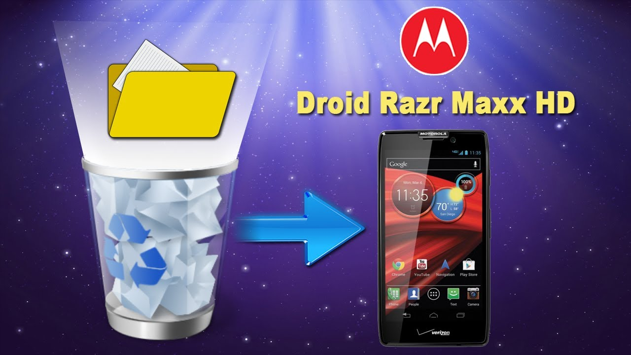 How to Recover Lost Data, Recover Deleted files from Android