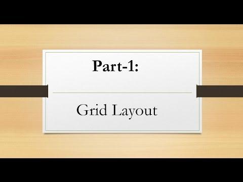 Mastering WPF    Grid Layout    In Urdu/Hindi