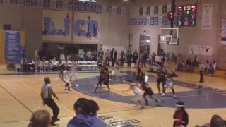 #2 Myishia Watkins of Mt. Miguel High School Lady Matadors Basketball