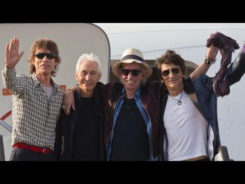 Historic Concert: The Rolling Stones arrive in Cuba