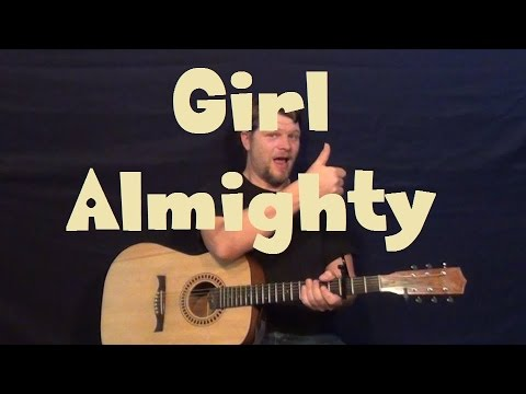 Girl Almighty (One Direction) Easy Guitar Lesson How to Play Tutorial