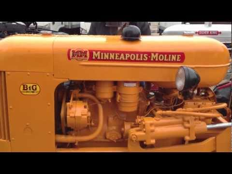 1953 Minneapolis-Moline BG Tractor For Sale at Online Auction