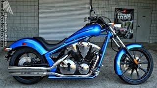 2016 Honda Fury 1300 Chopper Walk Around Video - Blue VT13CX / Cruiser / Motorcycle