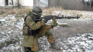 """стрельба из страйкбольного """"печенега""""."""