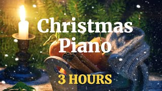 Christmas Piano Music - 3 Hours (Peaceful And Relaxing)