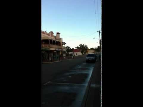 Sunday afternoon on Avon Terrace, York, Western Australia