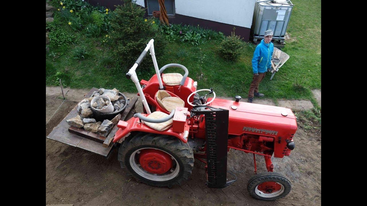 larscarving traktor mc cormick d 324 farmall. Black Bedroom Furniture Sets. Home Design Ideas
