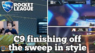 Daily Rocket League Moments: C9 finishing off the sweep in style