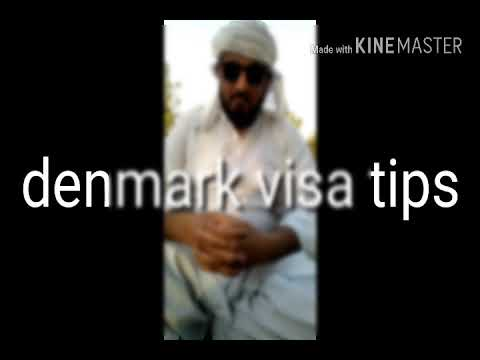 denmark visa apply tip