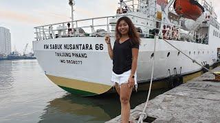 JAKARTA'S White Sand ISLAND PARADISE! $3.50 Five Hour PELNI Passenger Ship from Pulao Seribu