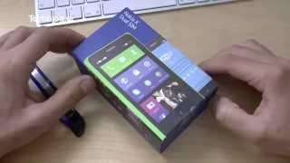 Nokia X DS unboxing (Greek)