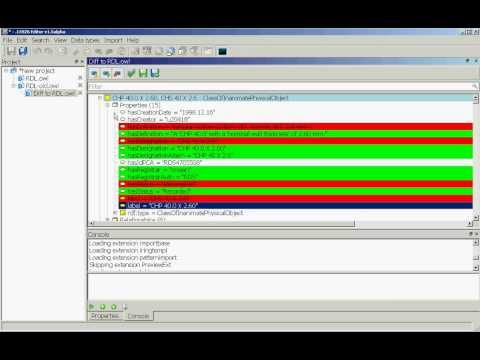 dot15926Editor - Semantic Diff and Change Management