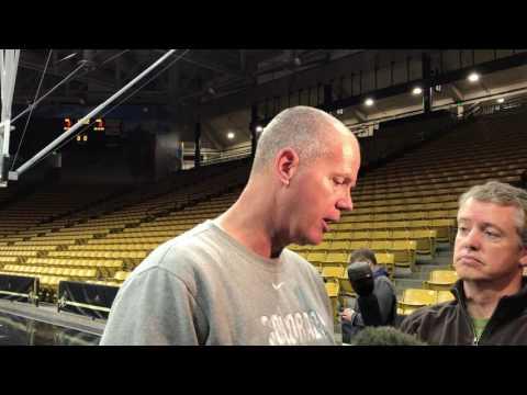 Tad Boyle 11/29  Post Practice Interview