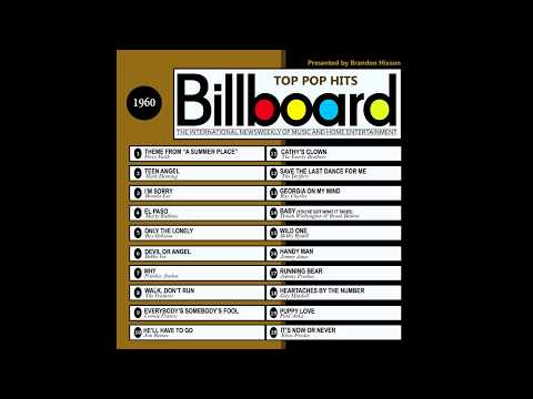 Billboard Top Pop Hits  1960