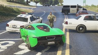 DANIREP vs 100 POLICIAS - GTA V ONLINE - GTA 5 ONLINE