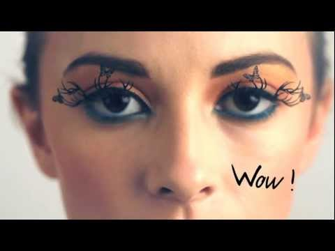 Paperself beauty tutorial: How to put on paperself lashes?