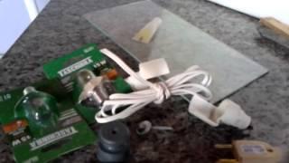 material para chocadeira caseira de isopor com termostato