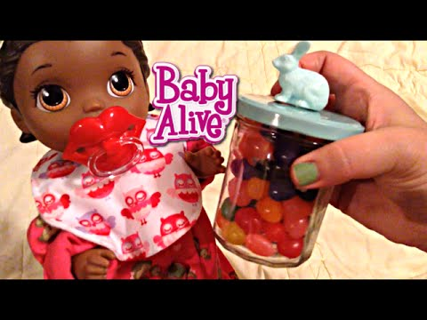 Baby Alive Super Snackin Lily Doll Jelly Beans Easter