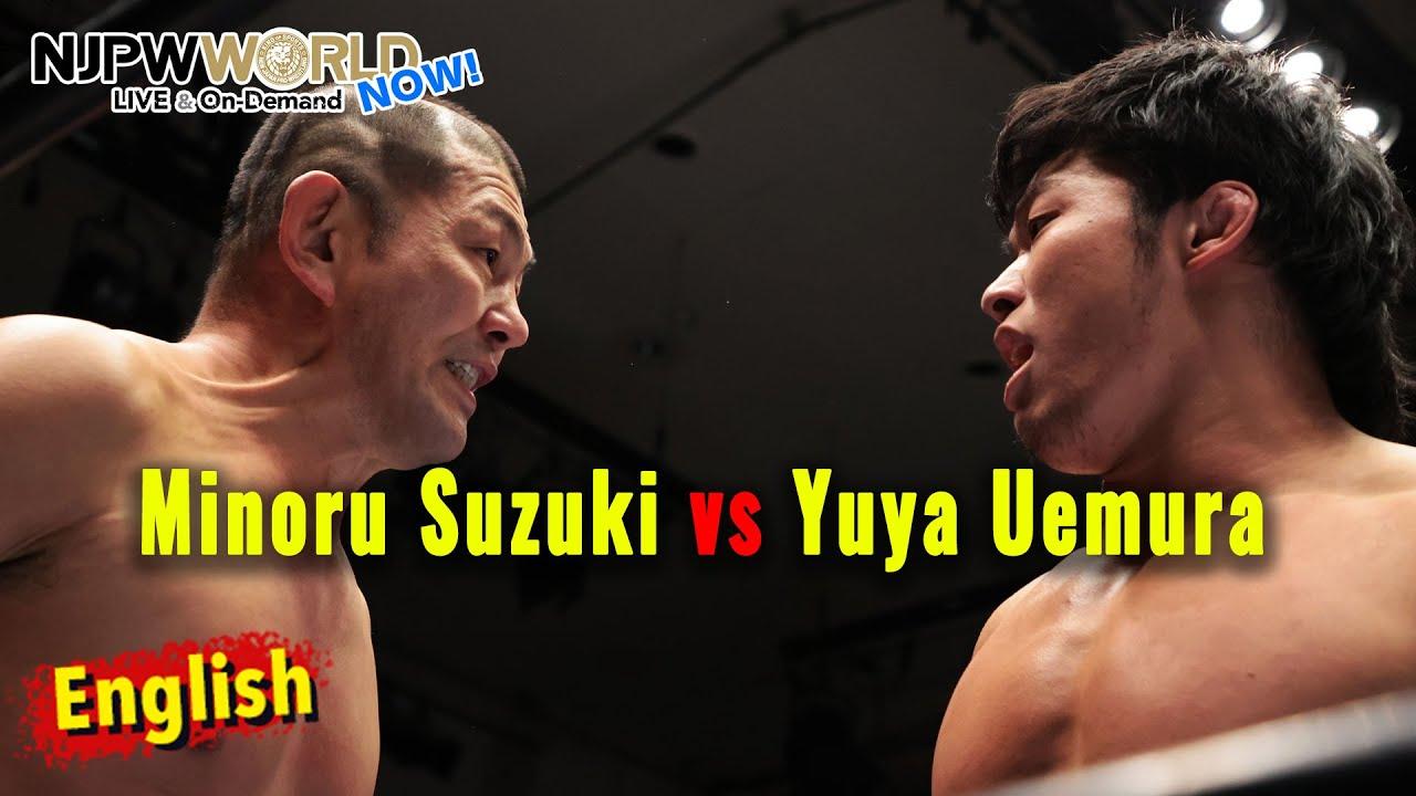 Yuya Uemura starts high profile singles gauntlets!【NJPWWORLD NOW!】