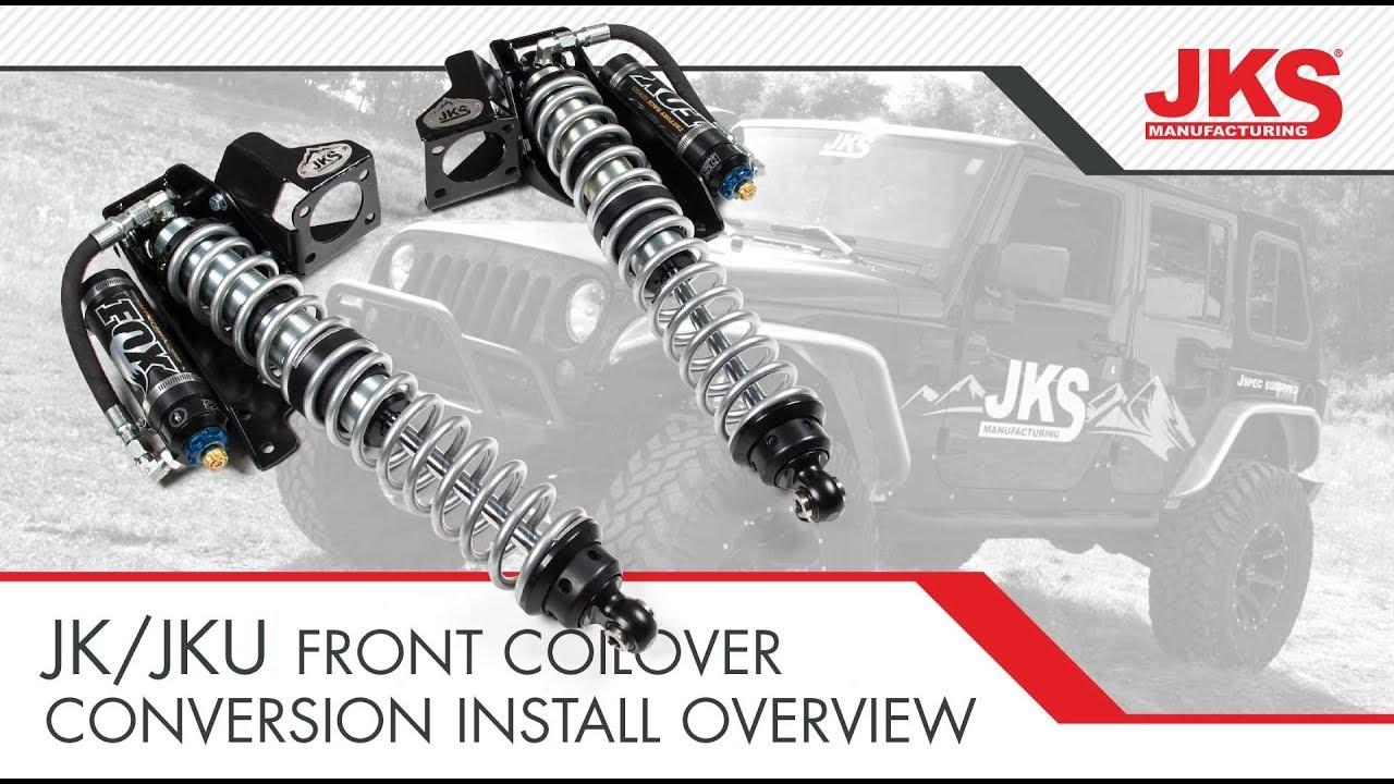 Wrangler JK Coilover Conversion Install Overview