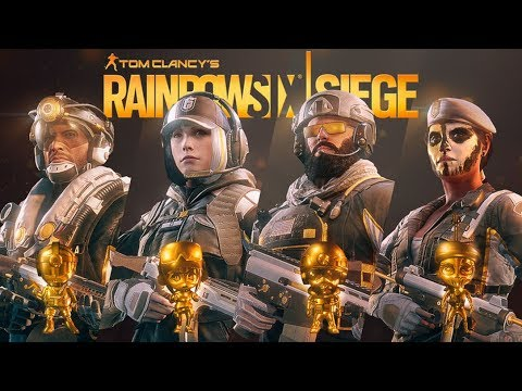 Rainbow Six Siege New Pro league skin - Ela Caveira Jackal Blackbeard  Uniforms & Charms R6
