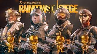Rainbow Six Siege New Pro league skin - Ela Caveira Jackal Blackbeard Uniforms & Charms R6