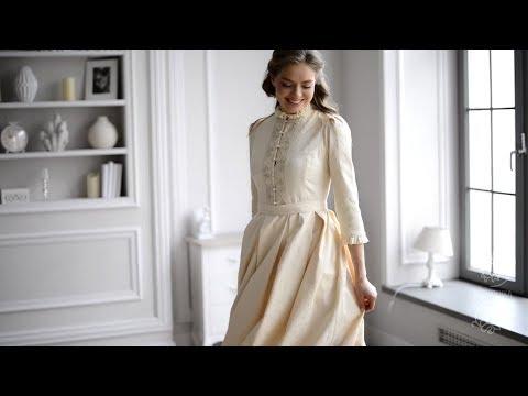 Модельер Ирен Ванидовская - создала венчальное платье для православных женщин.