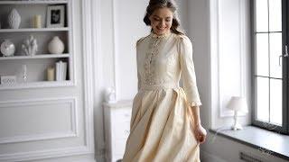 Платье «Венчальное» для венчания и крестин