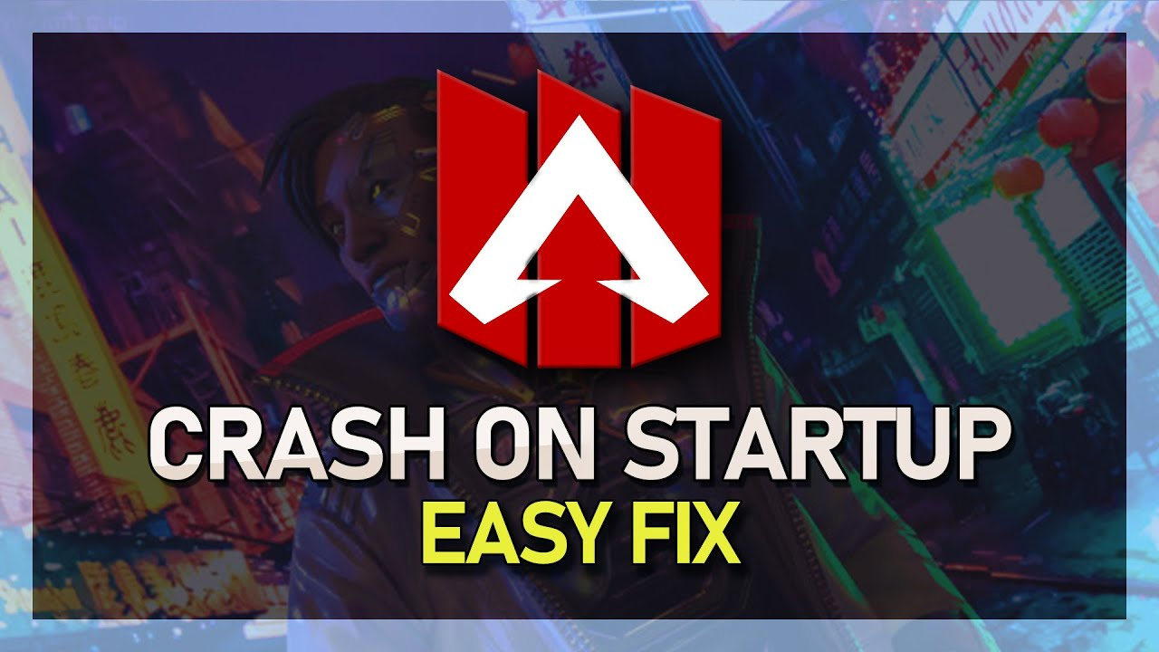 Apex Legends - Unable to Boot Game / Crash on Startup Fix!