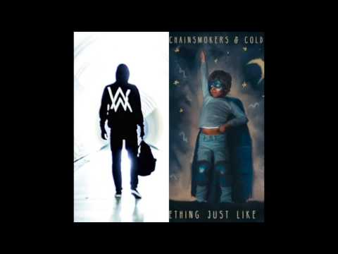 Alan Walker & The Chainsmokers ft. Coldplay - Faded / Something Just Like This (Mashup)