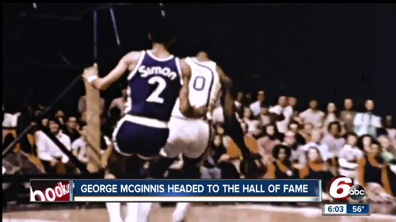 Pacers legend George McGinnis elected into Hall of Fame