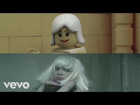 Sia  Chandelier LEGO Stopmotion Comparison