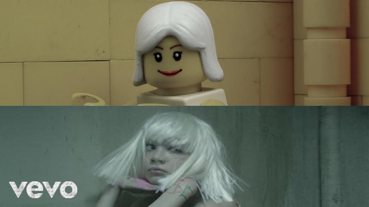 Sia Chandelier Lego Stop Motion Comparison