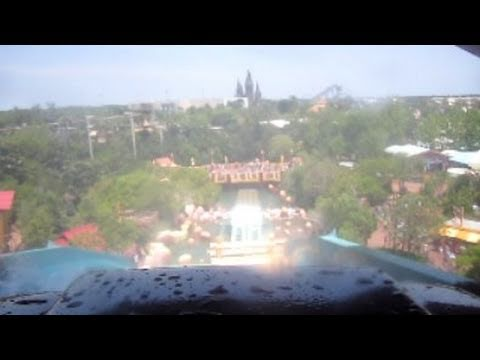 Dudley Do Right's Ripsaw Falls Front Seat on-ride HD POV Universal Studios Islands of Adventure