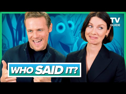 Outlander Cast Plays Who Said It: Jamie Fraser Or Disney Character
