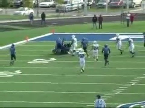 CUW football division 3 nick erickson - YouTube