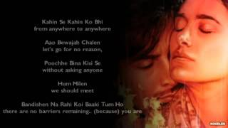 Tum Ho Rockstar - with lyrics & english translation