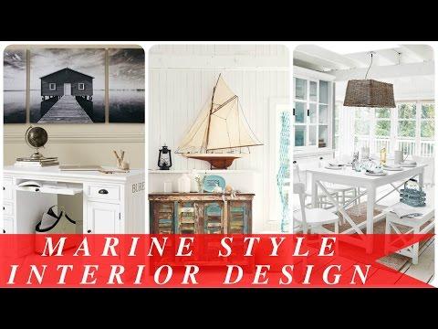 Marine style interior design