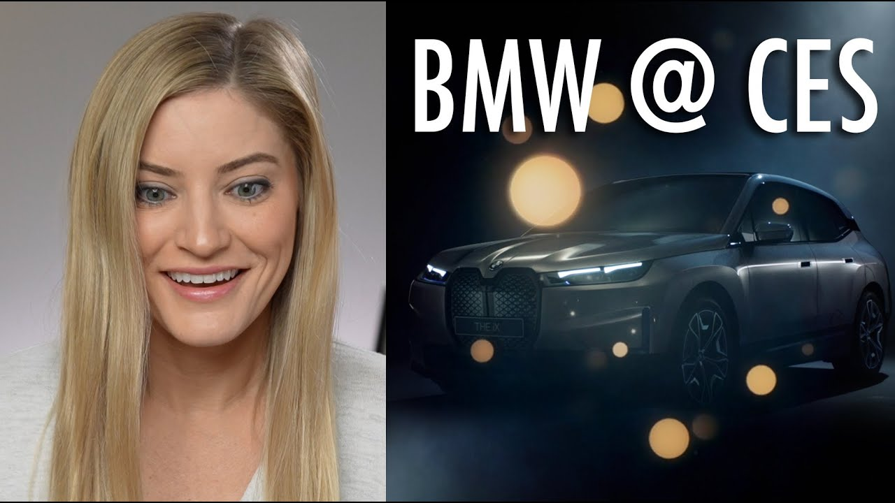 Meet the BMW iX Virtual Assistant! It's the Future Calling!